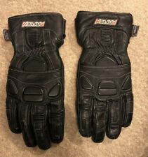 Rayven Motorcycle Leather Gloves Size XL