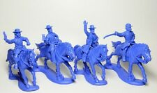 1/32 Set of soldiers Horse Headquarters Northerners 4 figures plastic 54mm