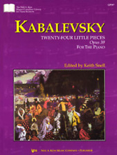 Kabalevsky 24 Little Pieces, Opus 39 For The Piano Music Book-Brand New On Sale!