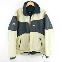 Helly Hansen Beige Waterproof Jacket Size M