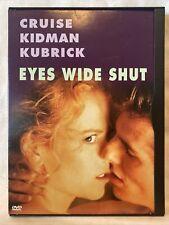 Eyes Wide Shut Dvd Tom Cruise Nicole Kidman Madison Eginton Jackie Sawiris Rare!
