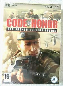 39728 - Code Of Honor The French Foreign Legion [NEW / SEALED] - PC (2008) Windo