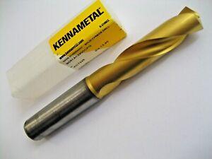 13.9mm CARBIDE DRILL BIT THROUGH COOLANT 3xD KENNAMETAL B051A13900CPG KC7325 P24