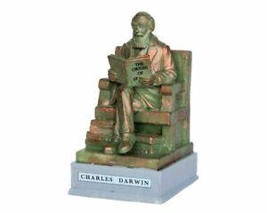 Lemax Christmas Village Charles Darwin Park Statue 64074 Accessory