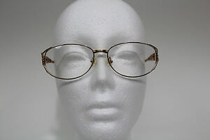 Women's Silver & Gold Metal Eyeglasses Frame Italia Mosaic Boutique Butterflies
