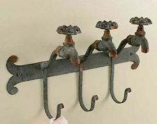 New Primitive Country Chic Old Vintage FAUCET HOOKS Towel Coat Wall Hook
