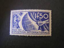FRANCE, SCOTT # 320, 1.50fr. VALUE ULTRAMARINE 1936 PARIS EXPOSITION MVLH