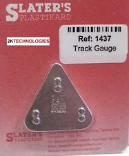 Slaters 1437 4mm Track Setting Gauge 16.5mm Code 75 Track 00 Gauge 1st Clas Post