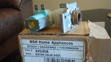 Dishwasher  water valve assy  BSH home Appliances part # 425458