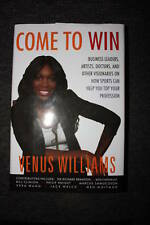 """VENUS WILLIAMS SIGNED """"COME TO WIN"""" BOOK"""