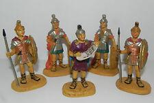 Nativity Scene Figurine Set /5 Soldiers Pellegrini Presepio Pesebre Soldados