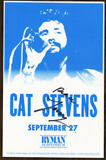 Cat Stevens autographed gig poster Yusuf Islam