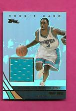 2003-04 TOPPS # TB GRIZZLIES TROY BELL NBA JERSEY RC  CARD (INV# C3415)