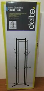 Delta Canaletto Adjustable 4-Bike Rack Stand Holds Up To 160 LBS New Sealed