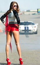 Racing Racecar Ford GT GT40 Leman Sport Race Car 1 18 Diecast Carousel White 24