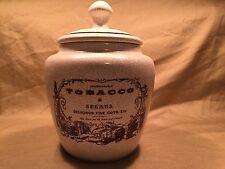 Savinelli Ceramic Tobacco Jar New and Unused in Original Packaging