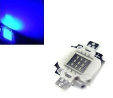 10w chip led Blu alta luminosità 460-470nm, 900-1050 mA, 9-12 volt, 200-300LM