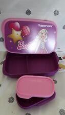 Tupperware barbie lunch box