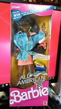 Mattel Barbie - 1990 Christie All American Doll - African American - Number 9425