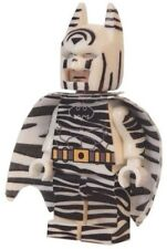 **NEW** LEGO Custom Printed ZEBRA BATMAN - DC Universe - Minifigure