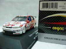 WOW EXTREMELY RARE Vauxhall Vectra #8 Cleland B' Half BTCC 1997-1:43 Onyx-Spark