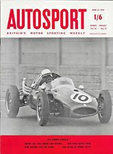 AUTOSPORT 1958 Apr 25th Test Renault Alpine Coupe * Cooper Dominate Aintree 200