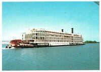 The Mississippi Queen Sister to the Delta Queen Ship Postcard EP-3