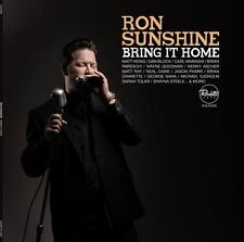 "Ron Sunshine ""BRING IT HOME"" CD (2015) Jazz Blues R&B Harmonica Vocal"