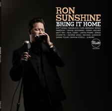 "Ron Sunshine ""BRING IT HOME"" CD (2015) Jazz Blues R&B Harmonica Vocal"