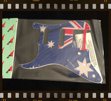 PICKGUARD FOR FENDER® STRATOCASTER® LEFT HAND HSS - Aussie Flag