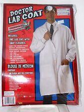 White Doctor's Lab Coat Men's Size 42 Costume Halloween Party School Theater