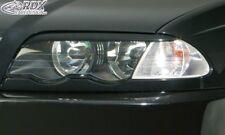 BMW 3-series E46 Sedan/Touring -2002 Headlight covers Eye Brows ABS