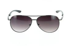 Lunette de soleil fumée pour homme style aviateur +  Pochette à lunette.