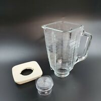 Oster Osterizer 5-Cup Square Top Replacement Glass Jar Blender Kitchen Center