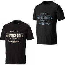 Dickies Castleton Camiseta Hombre Manga Corta Cuello Redondo Trabajo SH5022