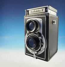 Reflekta II mit Carl Zeiss Jena Triotar 3.5/75mm Zweiäugige 6x6 vintage -(31507)