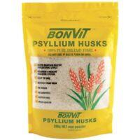 Bonvit Psyllium Husks 200g Oral Powder 100% Pure Soluble Fibre Constipation