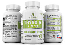 Thyroid Support Supplement with Iodine 30 Days Supply
