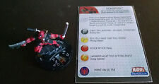 Deadpool #057 SR from Web of Spider-Man Heroclix set with card super rare