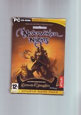NEVERWINTER NIGHTS 1 GOLD EDITION inc SHADOWS OF UNDRENTIDE - PC GAME - COMPLETE