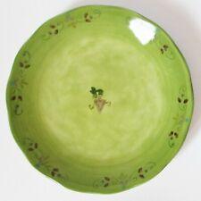 "Sango Tuscan Gardens Sue Zipkin Green Dinner Plate 11"" Hand Painted"