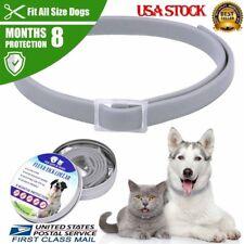 Dewel Flea and Tick Collar Adjustable for Small Medium Large Dog 8 Month