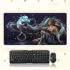 GAME Overwatch Shimada Han Extra Large Mouse Pad free shipping(31.4'' * 15.7'')