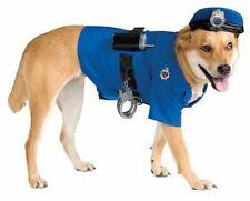 Pet Dog POLICE UNIFORM Dog Dress Up Costume