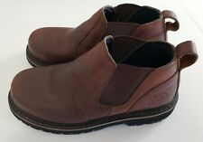 RED WING CASS ROMEO MENS LEATHER STEEL TOE BOOTS 83300 SIZE USA 8 GENTLY WORN
