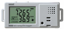 HOBO MX1101 Temperature/Relative Humidity Data Logger, Bluetooth