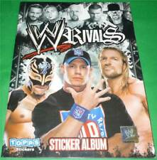 Topps WWE Wrestling *RIVALS STICKERALBUM 2009* KOMPLETT Undertaker wwf nxt wcw 1
