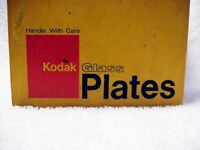"Kodak 3 1/4 x 4"" Glass Plates 