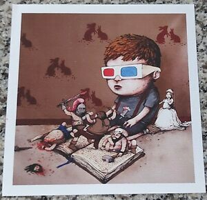 """Dran """"Imagination Above Technology"""" Print from Paris Pop-up 2016 3-D History"""
