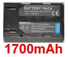 Batterie 1700mAh type SB-LSM160 Pour Samsung VP-D351